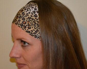 Leopard Print Stretch Headband
