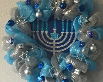 Hanukkah wreath, gift