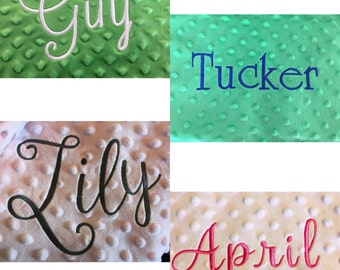 Add Embroidery -- Discounted for a limited time!!!