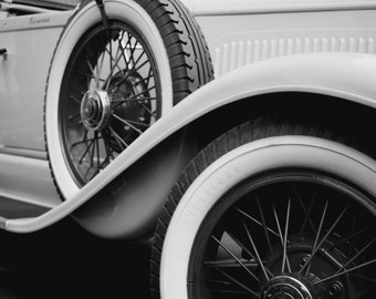 Fine Art Print: Old car