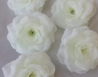 50pcs Silk rose heads silk flower heads flower arrangements floral heads Rose Heads Wedding decorations
