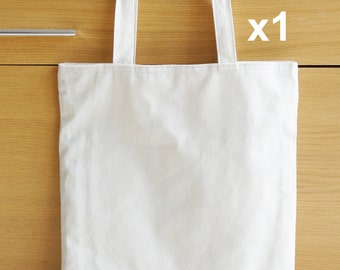 1 x Linen Tote Bag with inner pockets