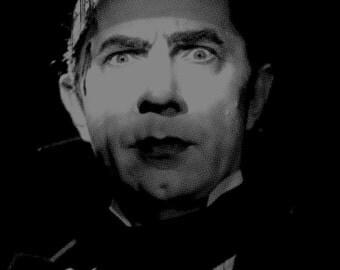 dracula - bela lugosi - black t-shirt - vampire