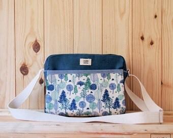 tree bag / fabric messenger bag tress
