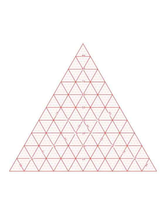 Triangular Graph Paper