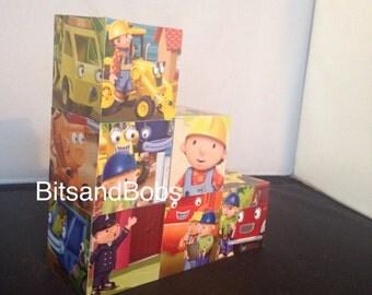 Bob the builder nursery blocks