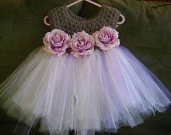 The Marie Crochet Tutu Dress
