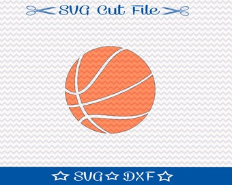 Basketball SVG File / SVG Cutting File for Silhouette / Sports SVG / Ball svg / svg for Basketball Player / svg for Athlete