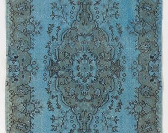 Items Similar To 5 6x8 6 Ft 166x258 Cm Teal Blue Vintage