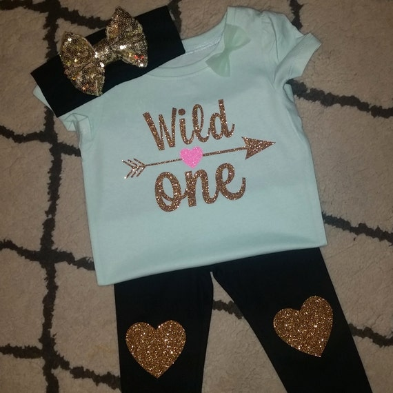 Items Similar To Wild ONe First Birthday Girl Outfit On Etsy