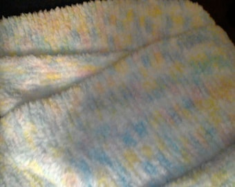 Hand-Knit Baby Blanke6