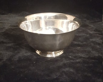 Webster Wilcox silverplate bowl