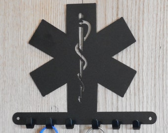 EMS Star of Life key holder  [4500476]
