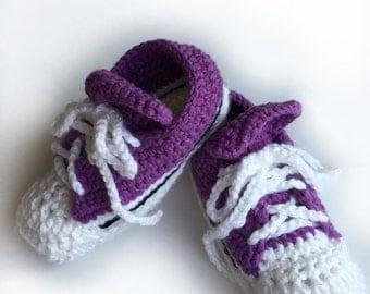Ladies Sneaker Slippers - Crochet Sneaker Slippers - Tennis Shoe Slippers, Slipper Sneakers - Slipper Shoes - Sporty Slipper Sneakers