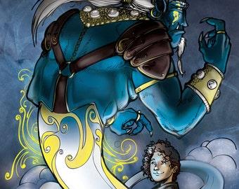 The Blue Djinn