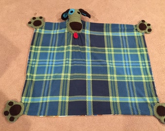 Puppy baby blanket