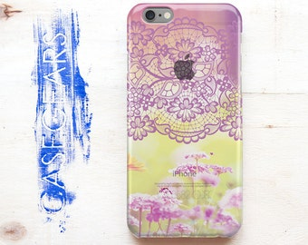 iPhone 6s Cover iPhone 6 Plus iPhone 5s Apple Case iPhone 6s Plus iPhoneCase Colorful Flower Floral iPhone Case for Samsung Galaxy S7 CG0073