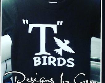T Birds shirt