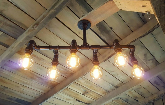 Rustic Kitchen Lights Ceiling Mount