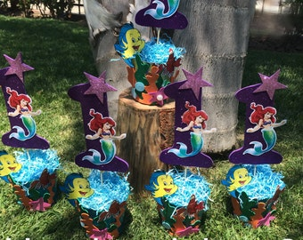 mermaid centerpiece for your party.
