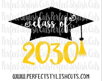Class of 2030 SVG, DXF, EPS, png Files for Cutting Machines Cameo or Cricut - Graduation svg, Pre-K Graduation Svg, Preschool Graduation Svg