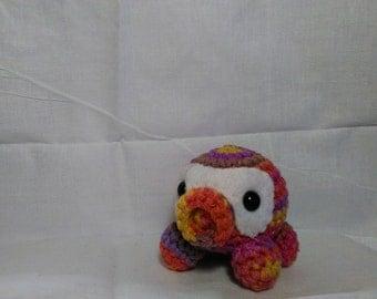 Octopus Amigurumi Crochet Mulberry colors