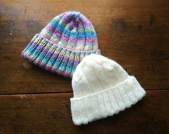 Knitted Hat - Choose Your Color