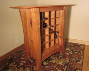 Vineyard Wine Cabinet