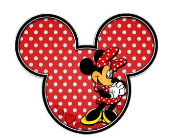 Minnie Mouse Iron on transfer.