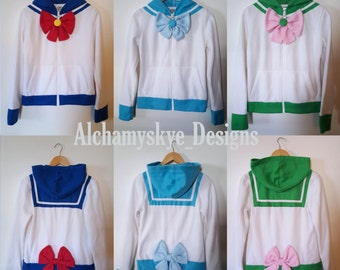 Women Sailor Scout Hoodies