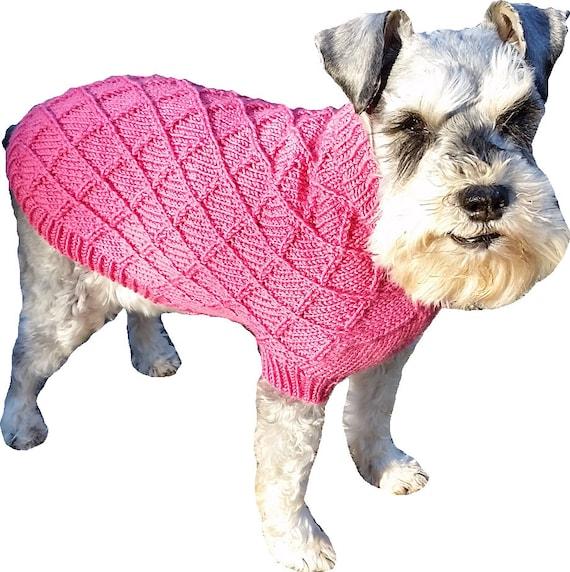 Diamond Dog Sweater Pattern