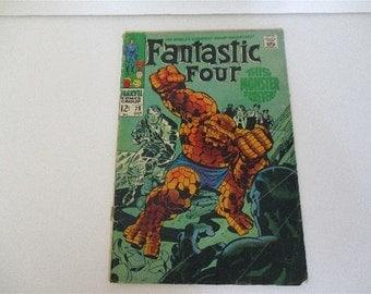 Vintage Marvel Comics Group Fantastic Four Comic No 79 1968