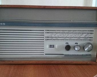 Vintage tube radio Erres RA 655 PS Dutch