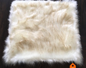 Dog Mat. Cat Mat. Dog Bed. Cat bed. Faux Fur Rug. Gift for Dogs.