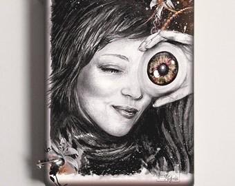 """Book ring """"My eye"""""""