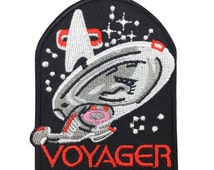 Star Trek patch Voyager Patch Embroidered Movie Iron On Sew On Patches