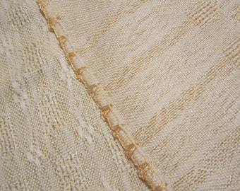 Reversible Table Cloth, hand woven, tissage
