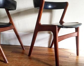 Set of Six Kai Kristiansen Chairs