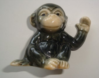 Vintage HTF Goebel Monkey Figurine #556 ~ West Germany