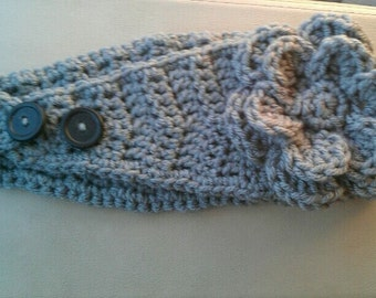 One Size Crochet Earwarmer Headband Pattern