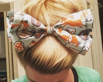 Foxy Hair Bow