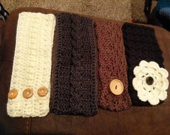 Crocheted Headbands / Ear Warmers