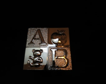 Personalized Laser Engraved ABC Bank