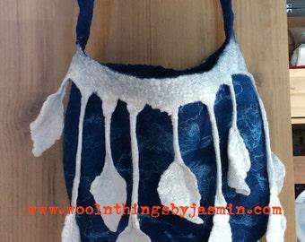 Blue leaf Bag