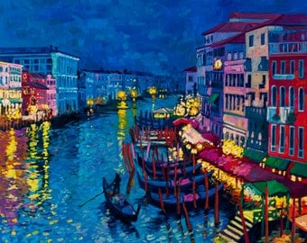 Beautiful gondolas at night.JPG 3289/2744px and TIFF file.