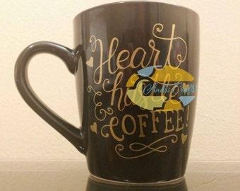 Heart Hustle & Coffee Mug