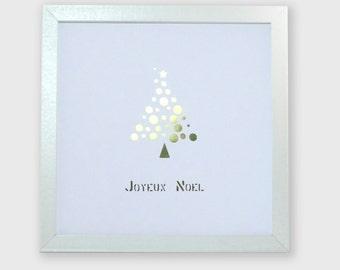Decoration wall Christmas customizable (color) / Paper craft / WallDecor / Christmas