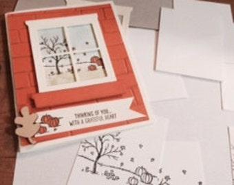 Fall Card Assortment (2 of each item)