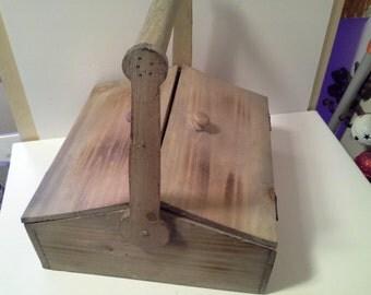Big wooden box