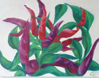 Purple/Red Peppers